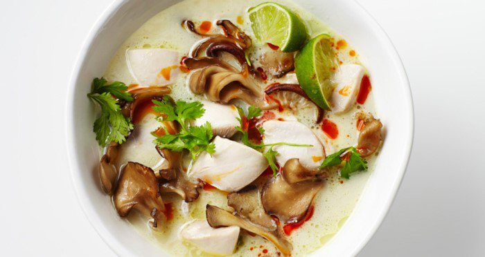 Tom Kha Gai Thai Coconut Soup Thailand
