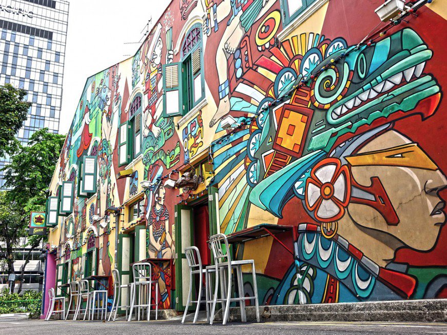 haji lane highlights singapore what to do in 1 day
