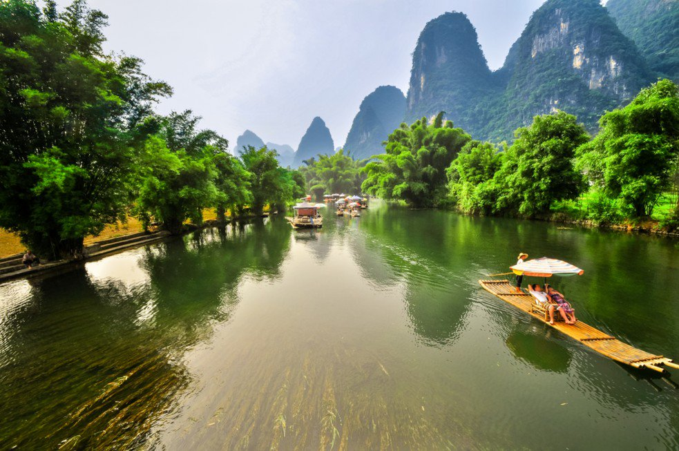 Gui Lin River National Park - China