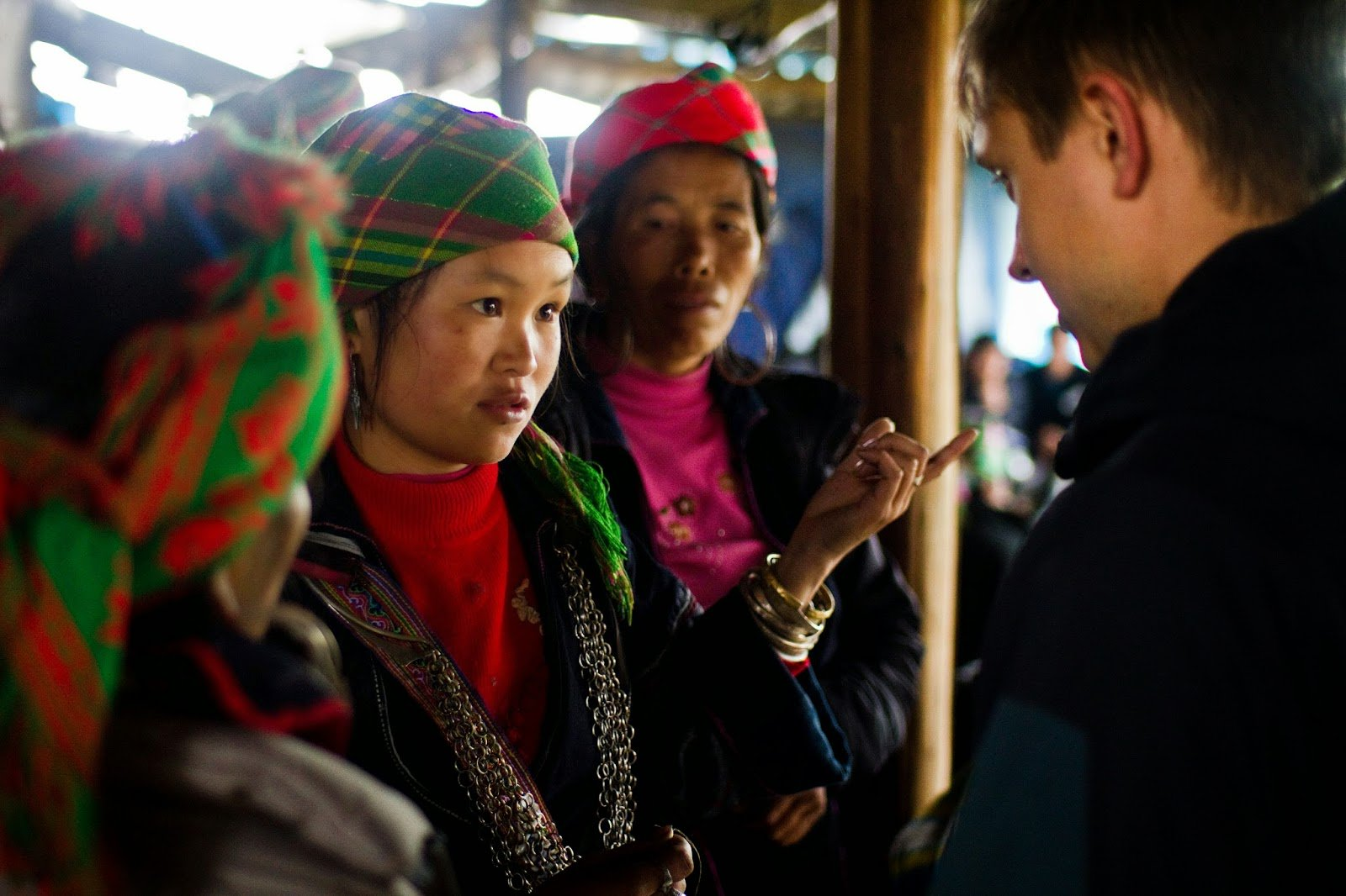 Hmong woman - interview