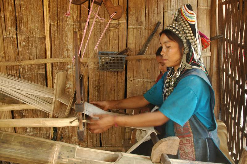 Ock Pop Tok Cambodia minority ethnic woman