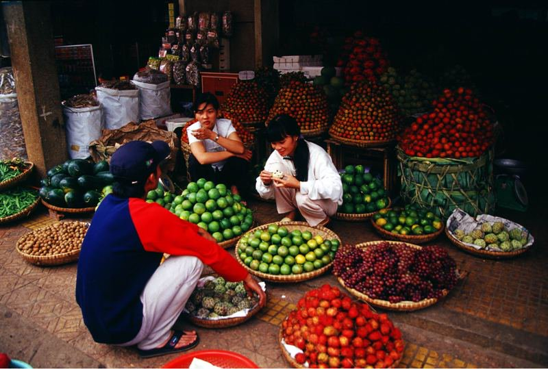 Fruit Market Asia