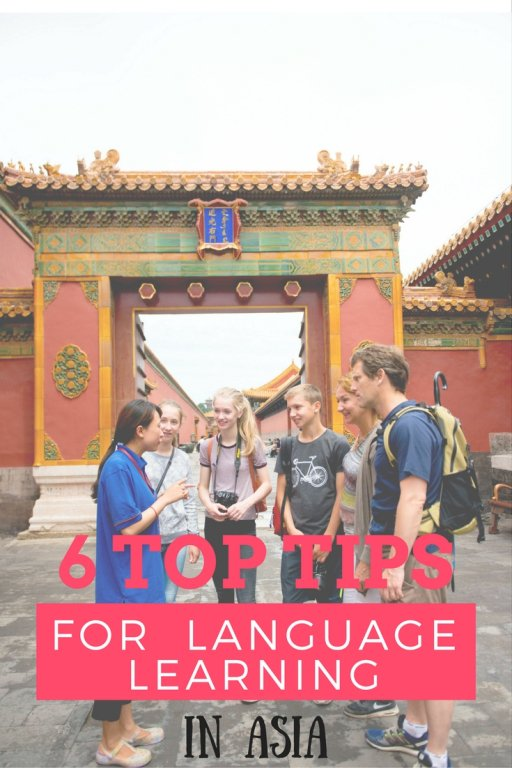 6 top tips language learning asia