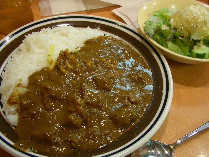 curry japan rice