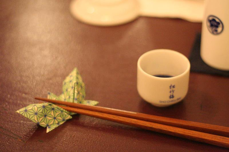 Japan Chopsticks Sake