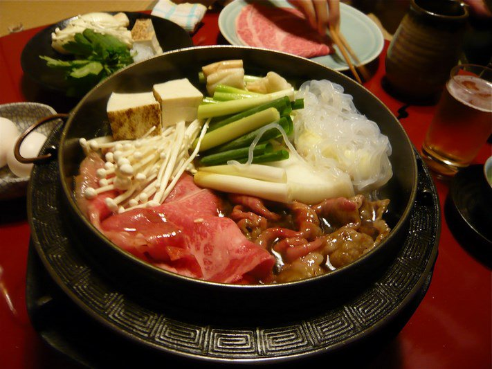 sukiyaki japan food tour