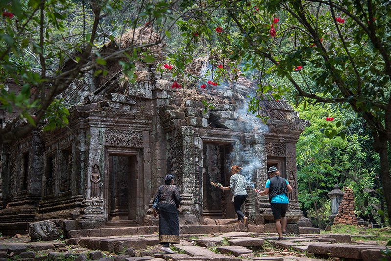 Vat Phou and Associated Ancient Settlements - Laos