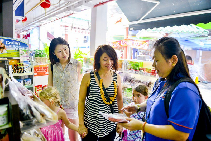 Singapore Tour Guide Supermarket