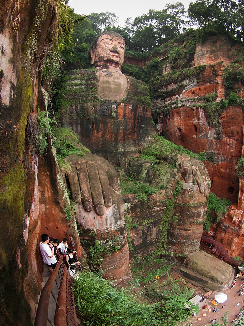 Mount Emei and the Leshan Giant Buddha – China