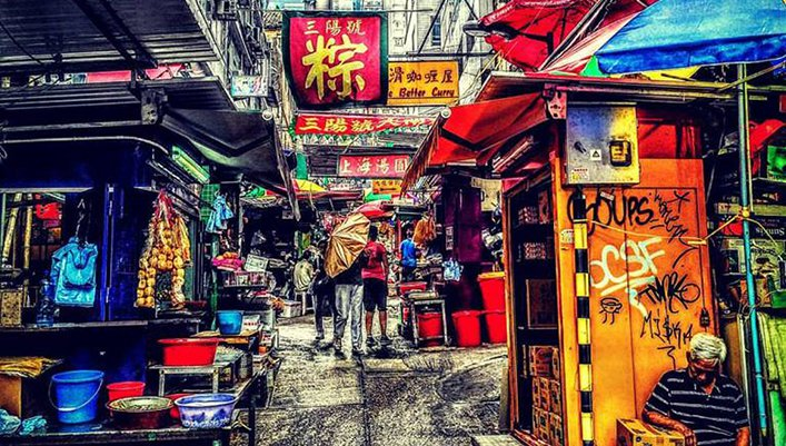 Malte Blas Hong Kong Wellington Street - Tips for City Trips in Asia
