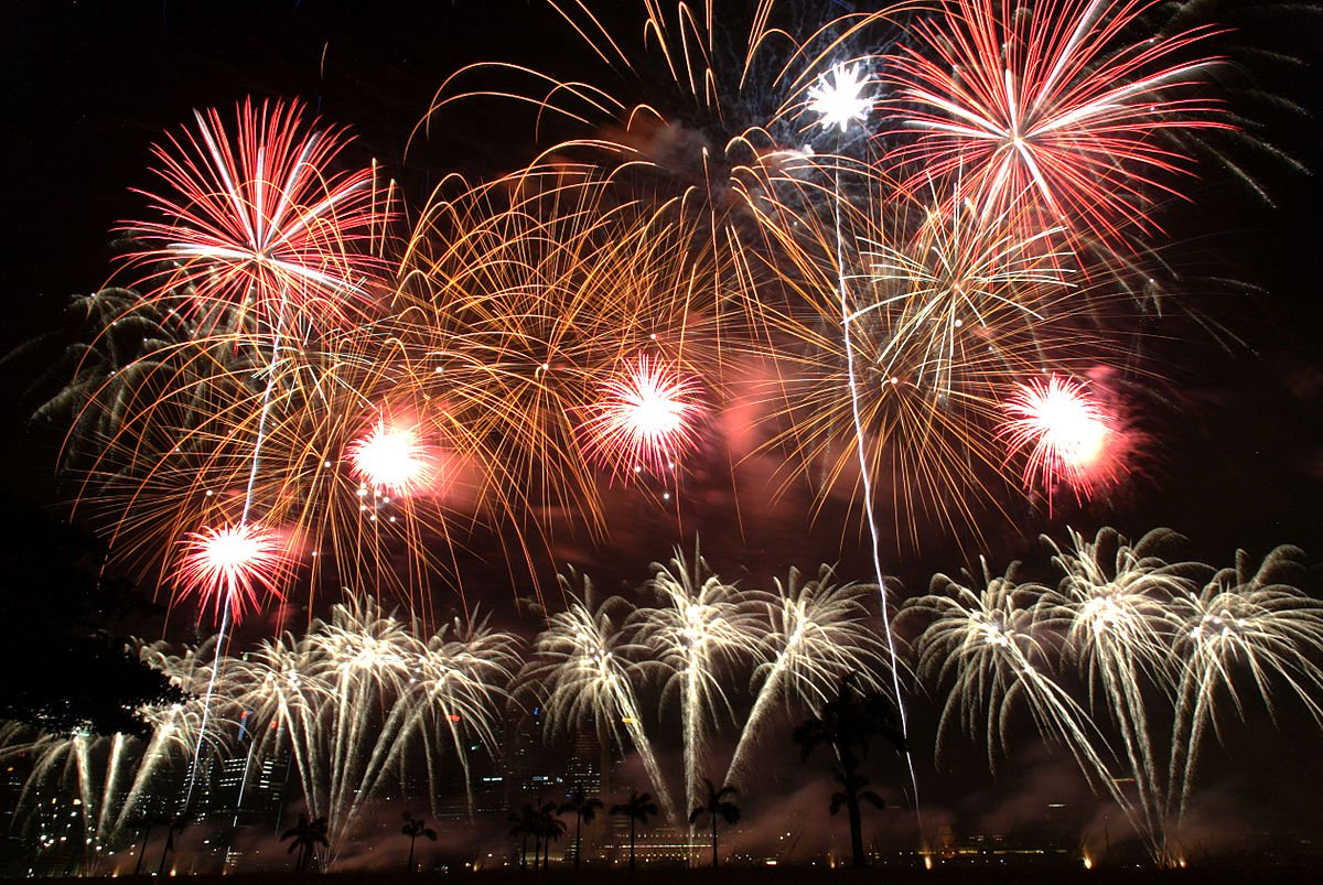Facts about Fireworks in Asia - Singapore