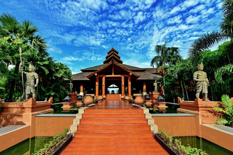 Lobby Entrance aureum luxury travel in myanmar