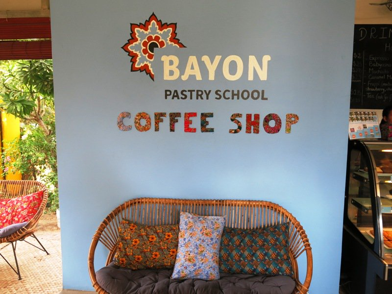 bayon cafe and pastry school siem reap
