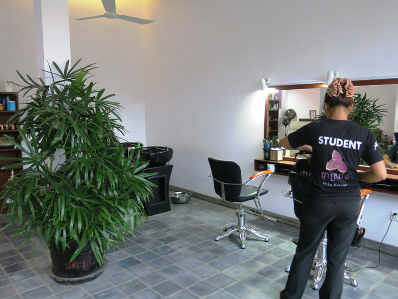 phka kravan beauty salon siem reap