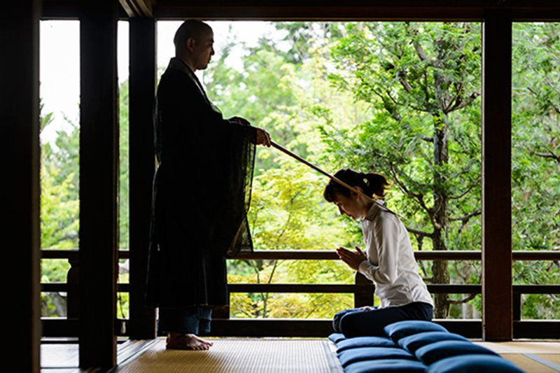 Malte Blas - Mindfulness and Wellness in Japan - Zazen Meditation