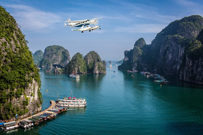 alte Blas - Luxury Travel in Vietnam - Halong Bay Seaplane