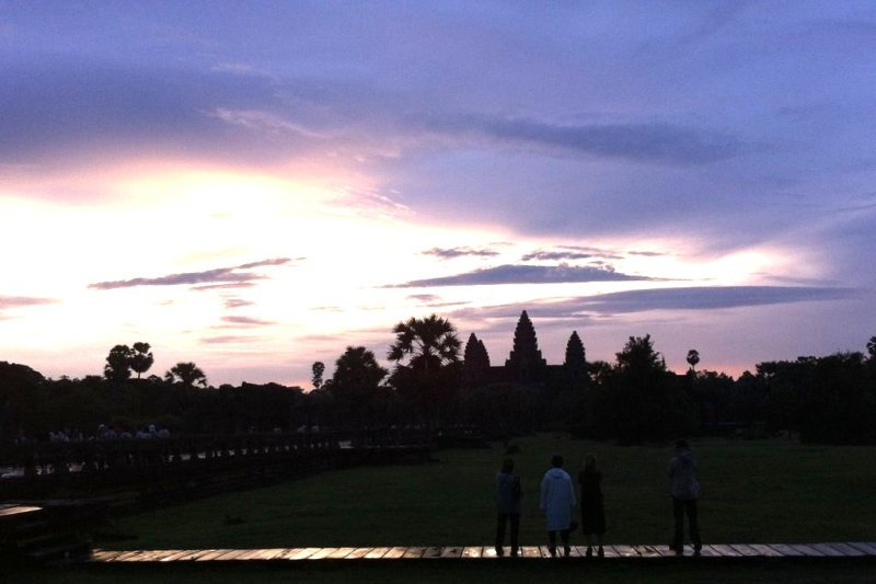 Guide Temples Asia - Sunrise Angkor Wat